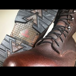 Rocky Shoes - Rocky Ironclad LaceUp Waterproof Leather Work Boot